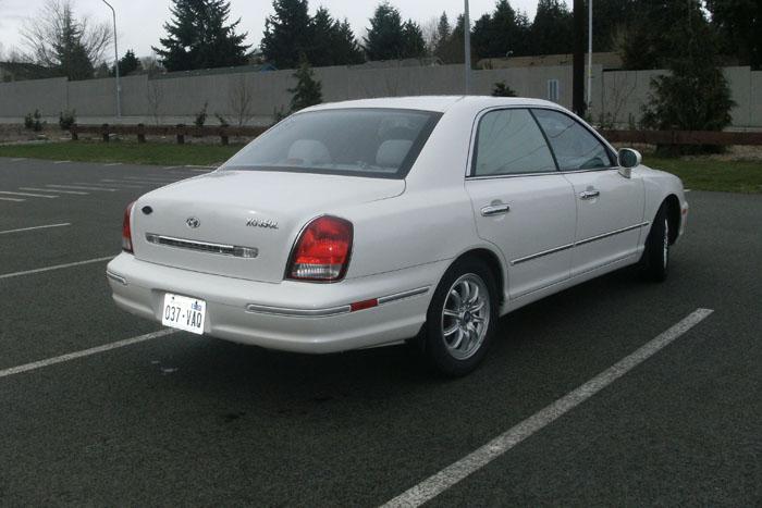 2002 hyundai xg350 l